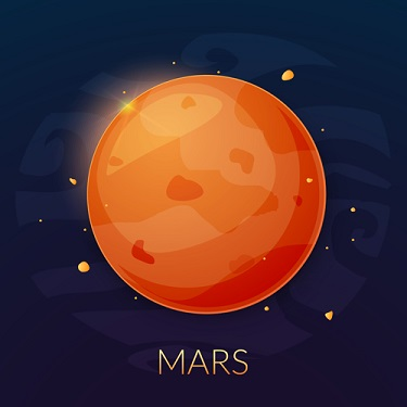 mars planet facts in astrology