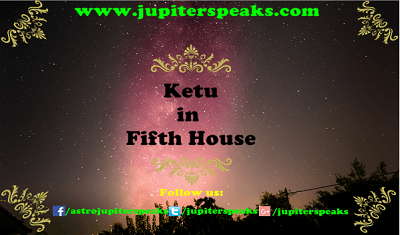 Ketu in 5th house