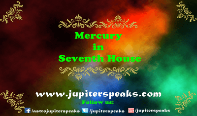 7 Good & Bad Effects of Mercury in 7th House in Vedic Astrology