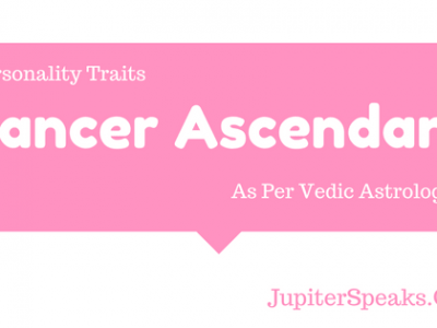 Cancer Ascendant