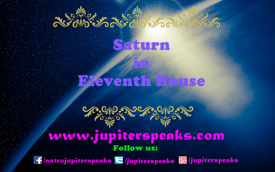 Saturn in 11th house