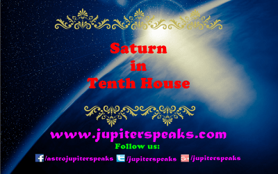 saturn in 10th House