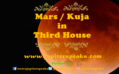 Mars in 3rd House