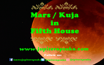 Mars in 5th house