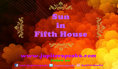 Sun in 5th house