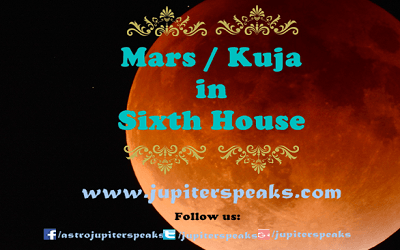 Mars in 6th House