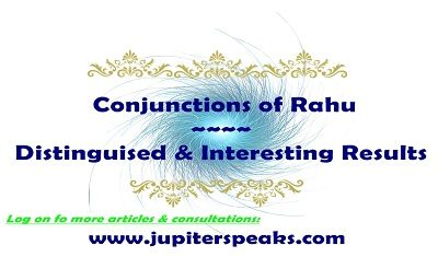 Conjunction of Rahu