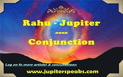 Jupiter Rahu Conjunction