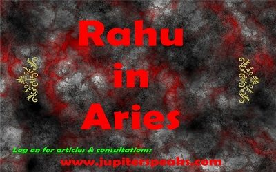 Rahu in Aries