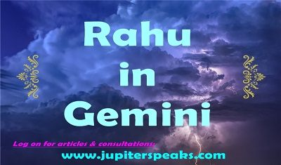 Rahu in Gemini