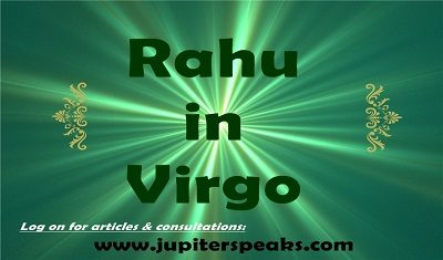 Rahu in Virgo
