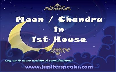 Moon in 1st House