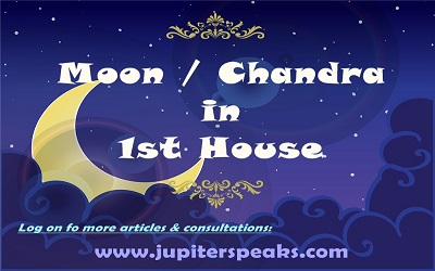 10 Good & Bad Effects of Moon in 1st house or Lagna in Vedic