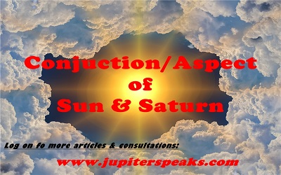 conjunction of Sun & Saturn