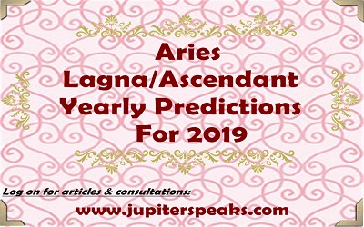 Aries ascendant horoscope 2019