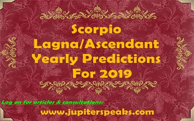 Scorpio ascendant horoscope 2019