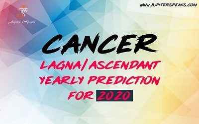 Cancer Ascendant 2020