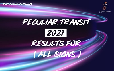Peculiar Results of 2021 For All Signs