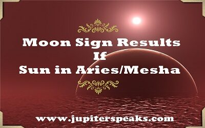 Results of All Moon Sign when Sun in Aries